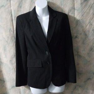 NWT Worthington career black 2 button blazer 8P